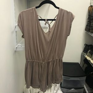 Brown Romper